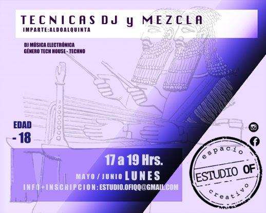 DJ Y MEZCLAS