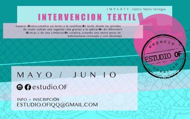 insta - intervención textil